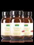 Aktionspreis: 3 x Omega-3 Fischöl Kapseln à 200 g