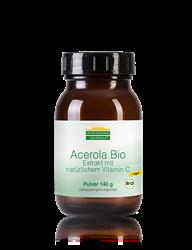 Acerola Bio Pulver - 140 g