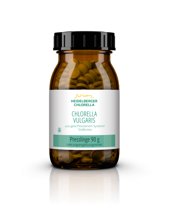 Chlorella vulgaris Presslinge