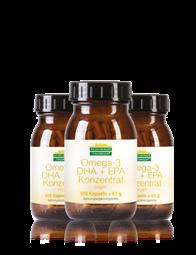 Omega-3 DHA + EPA Konzentrat Kapseln vegan