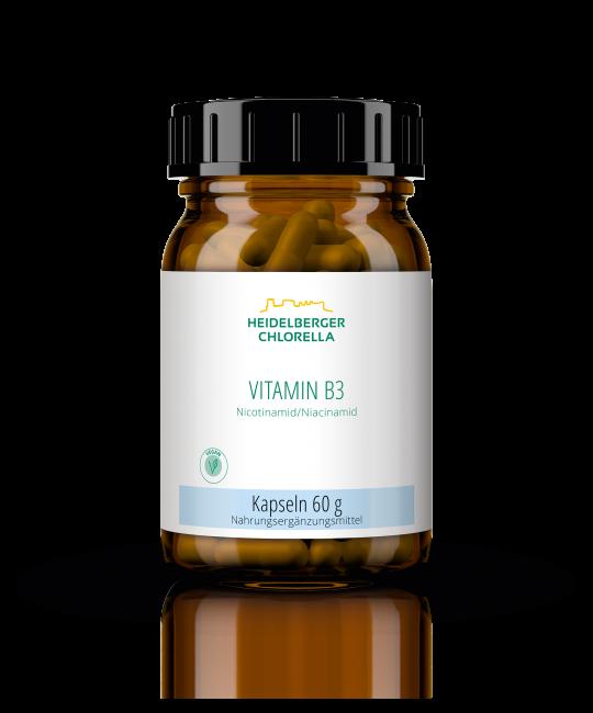 Vitamin B3 Niacinamid / Nicotinamid Kapseln