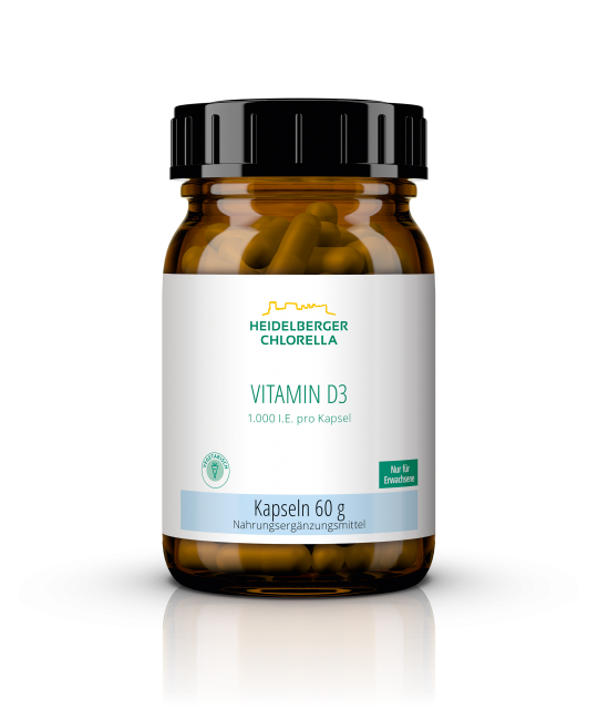 Vitamin D3 1.000 I.E. Kapseln