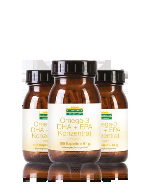 omega 3 dha epa konzentrat vegan zur nahrungserg nzung heidelberger chlorella. Black Bedroom Furniture Sets. Home Design Ideas