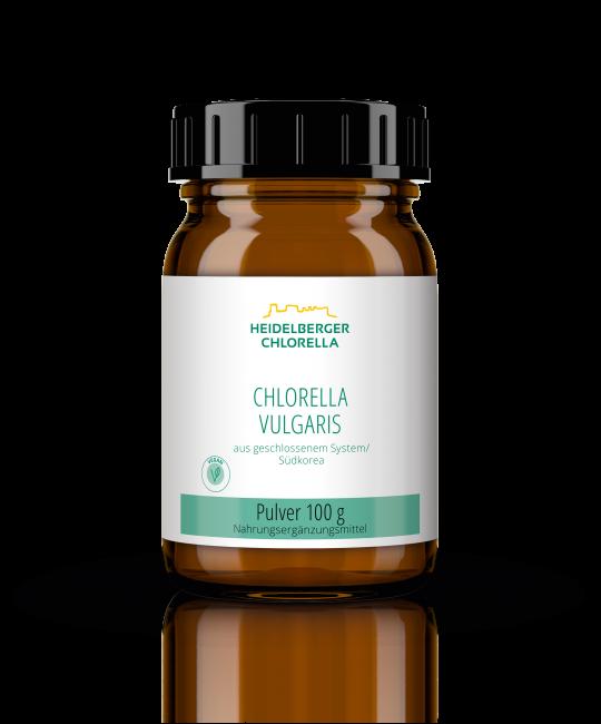 Chlorella vulgaris Pulver